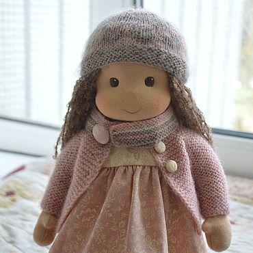 Куклы и игрушки ручной работы. Ярмарка Мастеров - ручная работа Вальдорфская кукла Пыльная роза. Handmade.