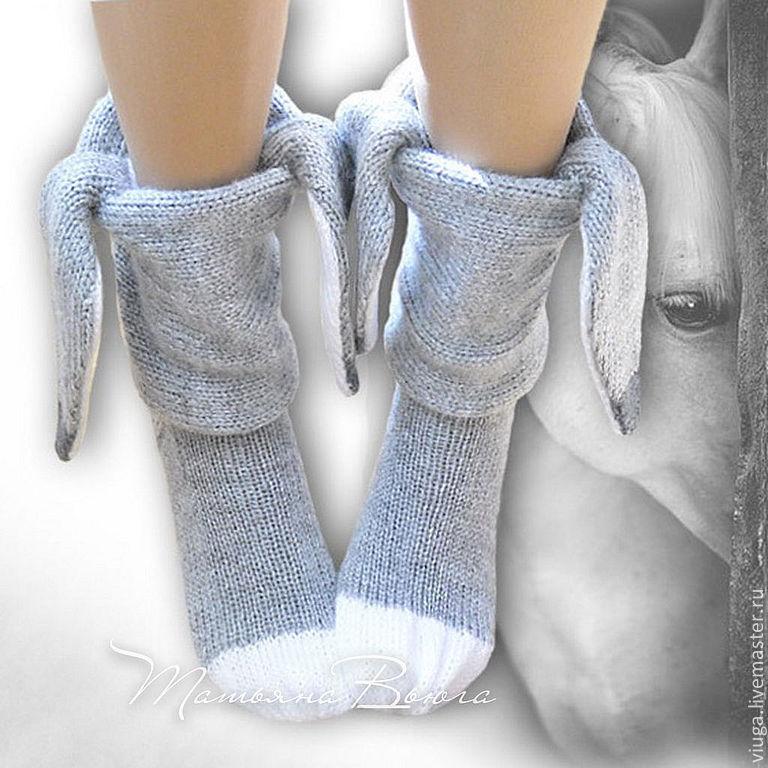 Купить День рождения Иа. Носки вязаные, шерстяные ...