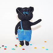 Куклы и игрушки ручной работы. Ярмарка Мастеров - ручная работа Вязаный кот. Handmade.