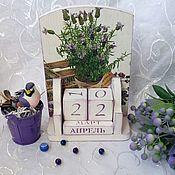 Канцелярские товары handmade. Livemaster - original item Desktop calendar