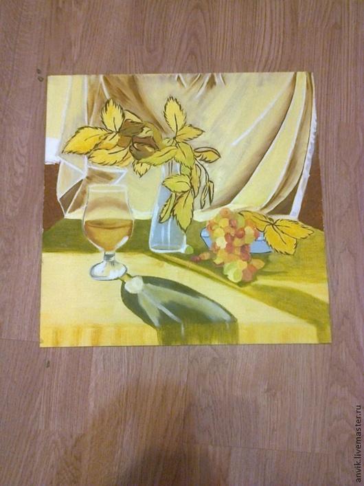 Натюрморт ручной работы. Ярмарка Мастеров - ручная работа. Купить Осенний натюрморт. Handmade. Желтый, осенний натюрморт, желтые листья
