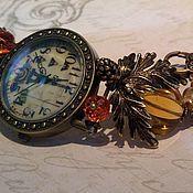 """Украшения ручной работы. Ярмарка Мастеров - ручная работа часы """"Золотая осень в Париже"""". Handmade."""