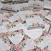 Свадебный салон ручной работы. Ярмарка Мастеров - ручная работа Tender Roses..Свадебные бонбоньерки. Handmade.