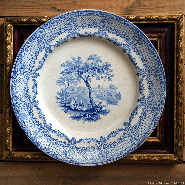 Vintage Kitchenware Livemaster  Handmade Buy Antique Plate, William Ridgway,