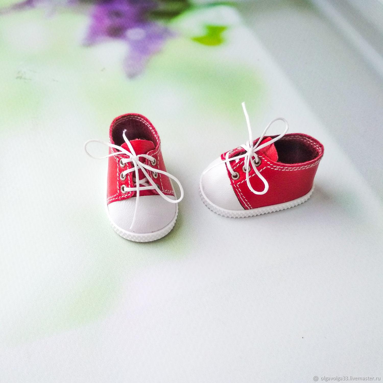 Кеды красные для Паола Рейна, Одежда для кукол, Липецк,  Фото №1