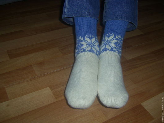 Белье ручной работы. Ярмарка Мастеров - ручная работа. Купить Носки мужские. Handmade. Комбинированный, носки вязаные, носки