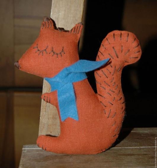 """Игрушки животные, ручной работы. Ярмарка Мастеров - ручная работа. Купить Игрушка """"Белочка Бэлла"""". Handmade. Рыжий, сувенир"""
