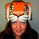 """Детские карнавальные костюмы ручной работы. Ярмарка Мастеров - ручная работа. Купить шапка из поролона """"тигр"""". Handmade. Тигр"""