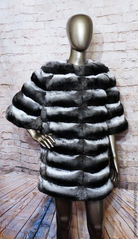Верхняя одежда ручной работы. Ярмарка Мастеров - ручная работа. Купить Шубка из шиншиллы. Handmade. Шубка, купить в москве