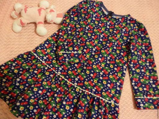 """Одежда для девочек, ручной работы. Ярмарка Мастеров - ручная работа. Купить Сделано на заказ Платье для девочки """"Вишневый сон - 1"""". Handmade."""