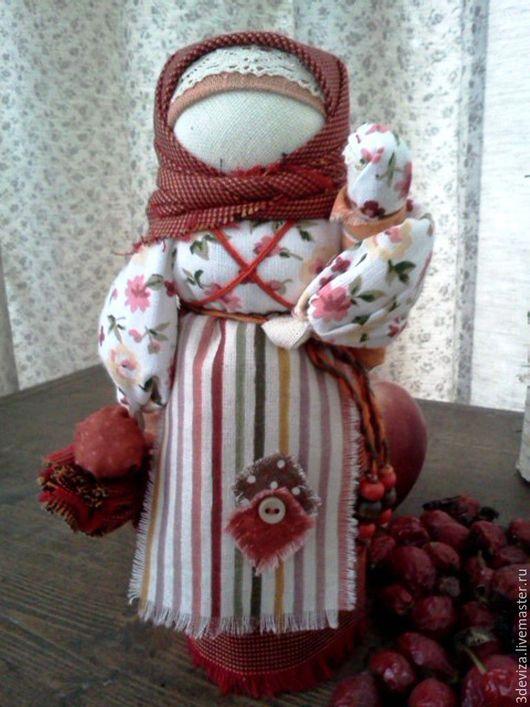 """Народные куклы ручной работы. Ярмарка Мастеров - ручная работа. Купить Кукла """"Берегиня"""".. Handmade. Оранжевый, подарок на любой случай"""