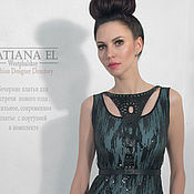 Одежда ручной работы. Ярмарка Мастеров - ручная работа Вечернее платье-футляр. Handmade.