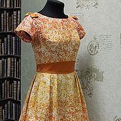 """Одежда ручной работы. Ярмарка Мастеров - ручная работа Платье в стиле 60-х """"Эдемский сад"""". Handmade."""