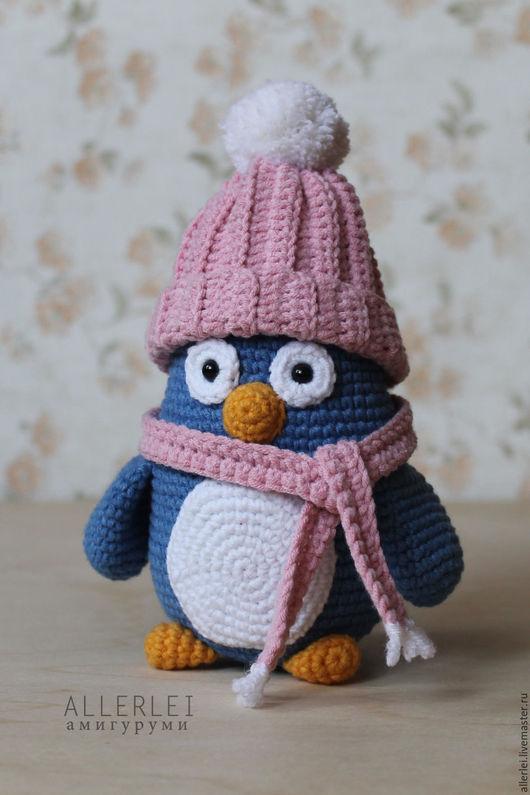 Игрушки животные, ручной работы. Ярмарка Мастеров - ручная работа. Купить Пингвин. Вязаная игрушка Пингвин. Вязаный Пингвин. Handmade.