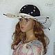 """Шляпы ручной работы. Шляпа из льна """"Белые ночи"""". Ирина (iresh). Интернет-магазин Ярмарка Мастеров. Белая, шляпа с полями"""