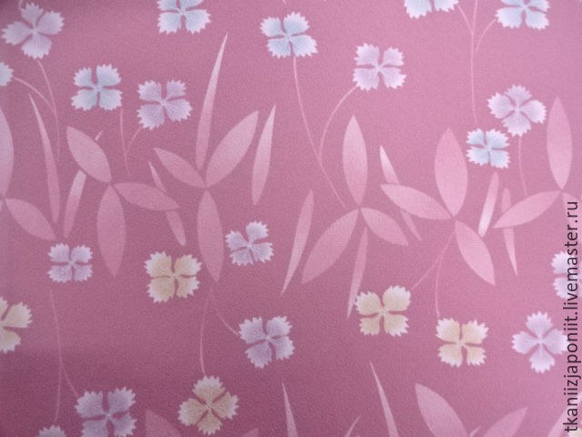 Japanese silk Crepe 'Buttercups-flowers', Fabric, Chelyabinsk,  Фото №1