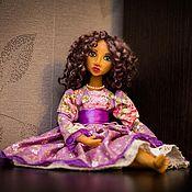 Куклы и игрушки ручной работы. Ярмарка Мастеров - ручная работа Кукла в смешанной технике Катрин. Handmade.