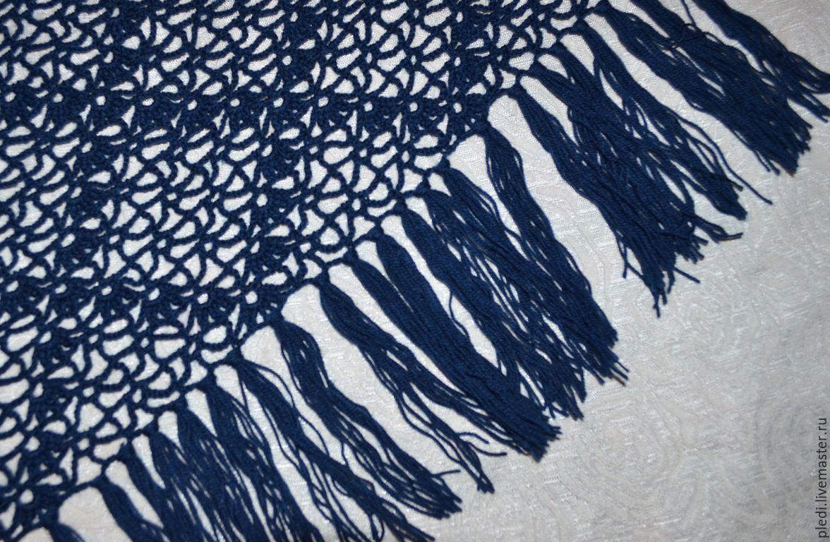 Dark blue shawl, Shawls, Moscow,  Фото №1