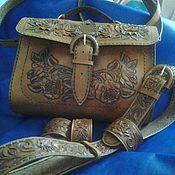Сумки и аксессуары ручной работы. Ярмарка Мастеров - ручная работа сумка+ремень+браслет. Handmade.