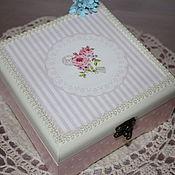 Для дома и интерьера ручной работы. Ярмарка Мастеров - ручная работа Шкатулка для маленькой леди №2. Handmade.