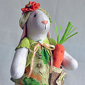 Куклы и игрушки ручной работы. Ярмарка Мастеров - ручная работа Зайка весенняя. Handmade.