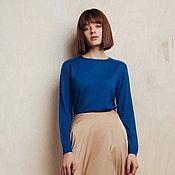 Одежда handmade. Livemaster - original item Cashmere jumper made of cashmere and silk. Handmade.