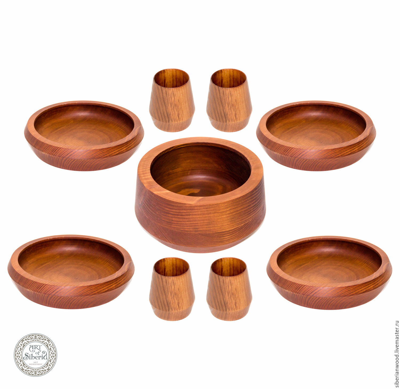 A set of wooden tableware (9#27, Utensils, Novokuznetsk,  Фото №1