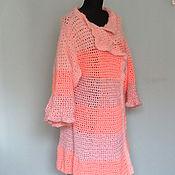 """Одежда ручной работы. Ярмарка Мастеров - ручная работа Пальто """" Тайский Оранжевый Закат"""". Handmade."""