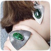 Украшения handmade. Livemaster - original item Ring with diopside