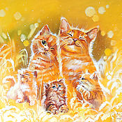 Картины ручной работы. Ярмарка Мастеров - ручная работа Счастье быть семьей. Handmade.