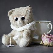 Куклы и игрушки ручной работы. Ярмарка Мастеров - ручная работа Кексик. Ванильный котик.. Handmade.