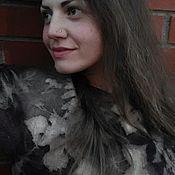 """Одежда ручной работы. Ярмарка Мастеров - ручная работа Платье валяное """"Вечер"""". Handmade."""