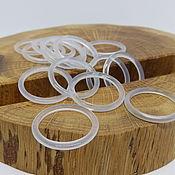 Украшения handmade. Livemaster - original item Thin ring chalcedony 18 p.. Handmade.
