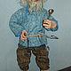 Сказочные персонажи ручной работы. Кукла Домовой Федор. Александрова Стася. Ярмарка Мастеров. Для дома, кукла домовой