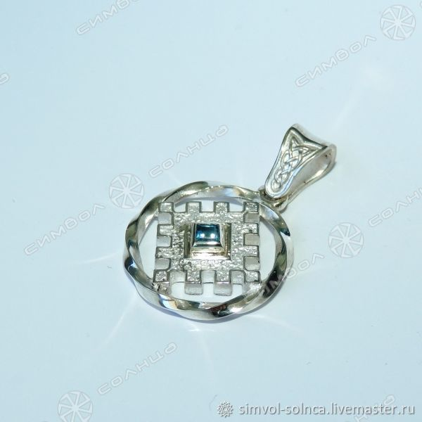 Talisman BURDOCK HAPPINESS (with stone), Pendants, Sochi,  Фото №1
