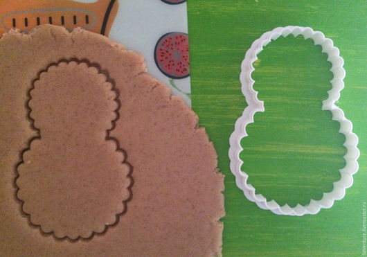 Кухня ручной работы. Ярмарка Мастеров - ручная работа. Купить Форма для печенья 8 марта. Handmade. Разноцветный, формочка для печенья