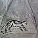 """Зонты ручной работы. Зонт с авторской  росписью """"Кошки"""". Uzdenikova Elena 'Road of silk'. Ярмарка Мастеров. Кошки, зонт"""