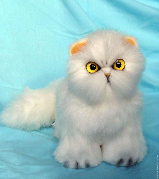Куклы и игрушки ручной работы. Ярмарка Мастеров - ручная работа. Купить Персидский кот. Handmade. Белый, игрушка ручной работы