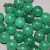 Материалы для творчества handmade. Livemaster - original item Aventurine beads, 12mm (natural stone). Handmade.
