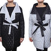 Одежда ручной работы. Ярмарка Мастеров - ручная работа Sale! -50% Куртка двусторонняя черно-белая. Handmade.