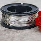 Материалы для творчества handmade. Livemaster - original item 0,5 mm copper Wire, silver. Handmade.