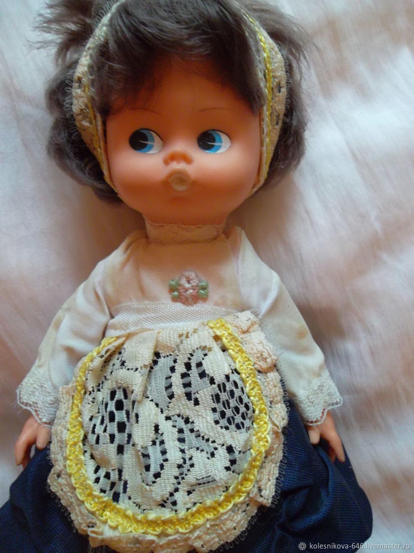 Винтаж: Винтажная музыкальная кукла , Англия, Винтажные куклы, Москва, Фото №1