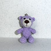 Куклы и игрушки ручной работы. Ярмарка Мастеров - ручная работа Брелок Плюшевый мишка. Handmade.