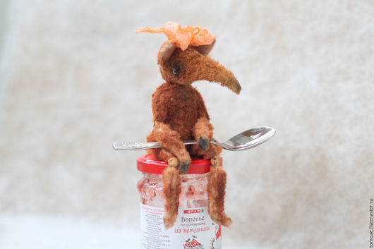Куклы и игрушки ручной работы. Ярмарка Мастеров - ручная работа. Купить Лисичка-Земляничка. Handmade. Рыжий, лисичка тедди