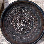 Посуда ручной работы. Ярмарка Мастеров - ручная работа Декоративная тарелка. Handmade.