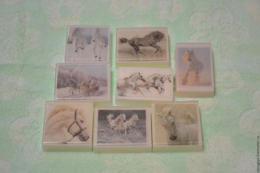Мыло ручной работы. Ярмарка Мастеров - ручная работа. Купить Лошади. Handmade. Мыло ручной работы, лошадь, мыло в подарок