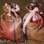 Сувениры и подарки ручной работы. Ярмарка Мастеров - ручная работа Большой мешок Деда Мороза для тяжелых подарков. Handmade.