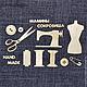 Д-021. Набор декоративных элементов `Рукоделие`