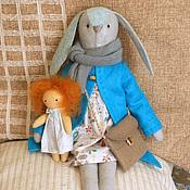 Куклы и игрушки ручной работы. Ярмарка Мастеров - ручная работа Грета. Зайка фетровая.. Handmade.
