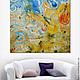 """""""Песня пустыни"""" 120х120 огромная картина в стиле лофт, Картины, Санкт-Петербург,  Фото №1"""